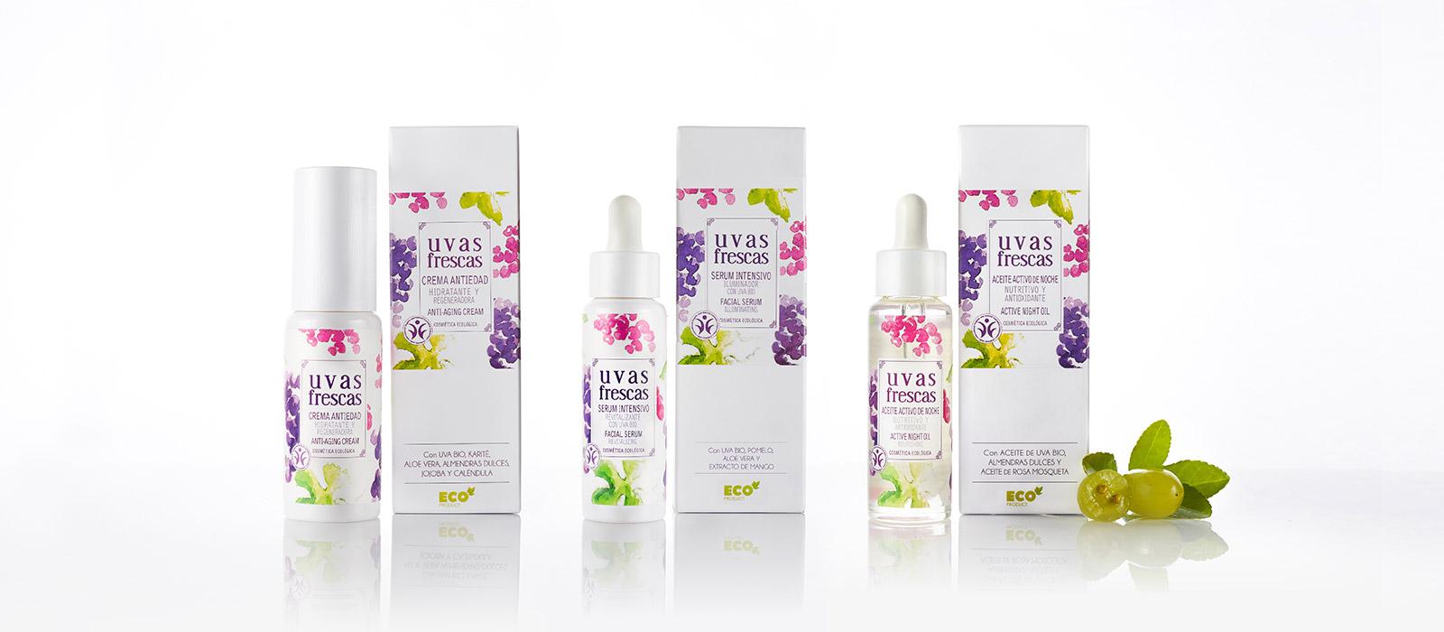 Productos de cosmética ecológica certificada